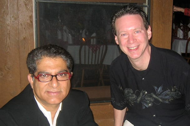 Dr. Mitch Prywes and Dr. Deepak Chopra